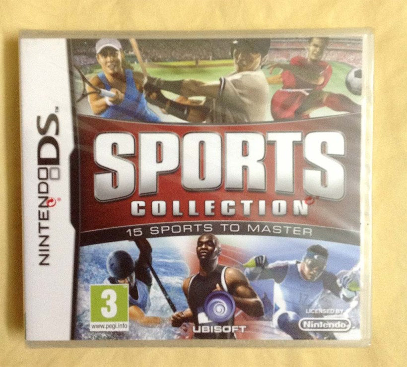 My copy of Sports Collection (Nintendo DS)