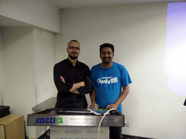 With Prashant!